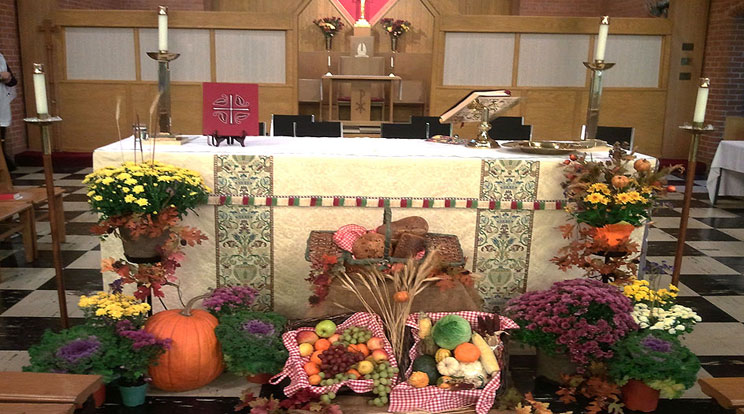 Thanksgiving-altar